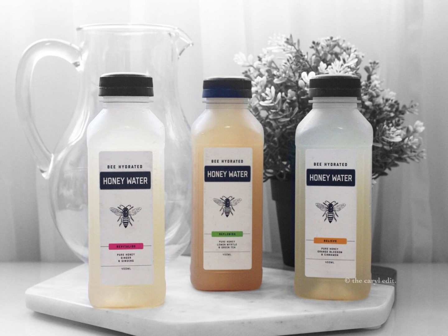 Revitalise, Relieve & Replenish With BEE HYDRATED Honey Water