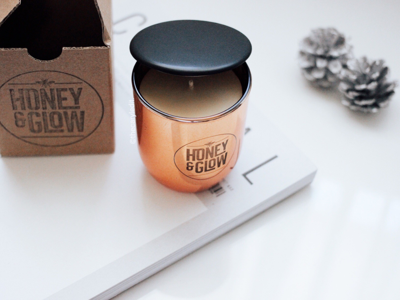 HONEY & GLOW: Handmade, Natural And Sustainable Candle