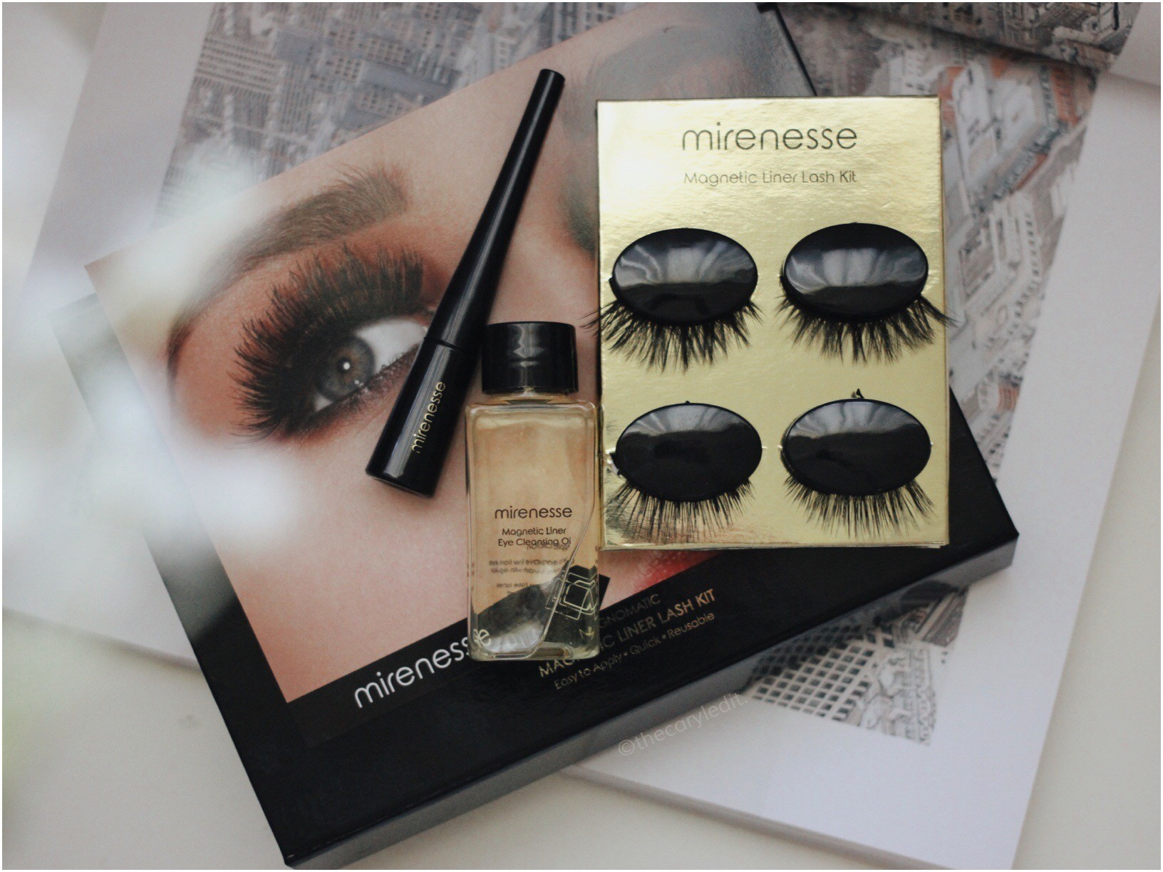 MIRENESSE: Magnomatic, Line, Click, Wow Liner & Lash Kit