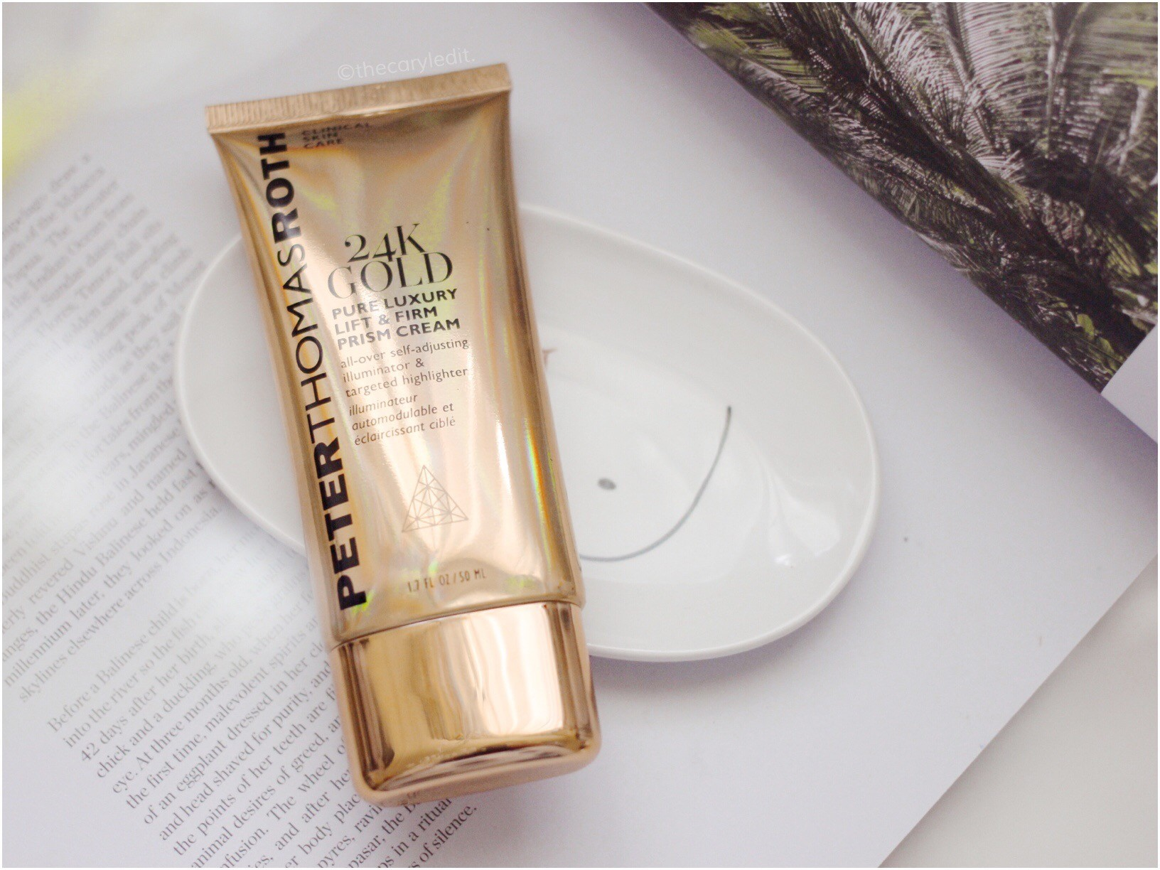 PETER THOMAS ROTH: 24K Gold Pure Luxury Lift & Firm Prism Cream